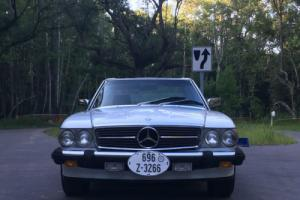 1986 Mercedes-Benz 500-Series 560sl Convertible