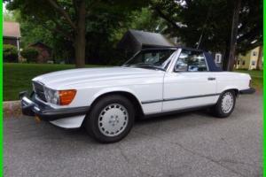 1988 Mercedes-Benz 500-Series 2 Dr Convertible