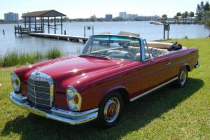 1968 Mercedes-Benz 200-Series Coupe Converted with Original MB Parts w111