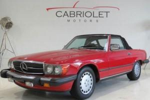 1986 Mercedes-Benz 500-Series 560SL 2dr Convertible