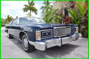 1978 Mercury Grand Marquis Coupe 53k Miles Photo