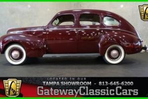 1939 Mercury Sedan Delux Photo