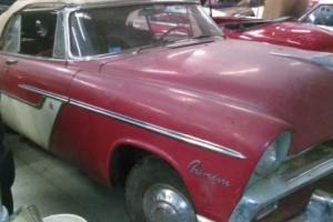 1955 Plymouth BELVEDERE CONVERTIBLE