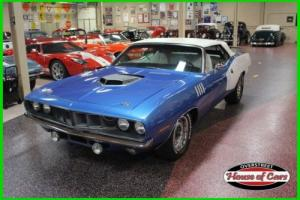 1971 Plymouth Barracuda 1971 Plymouth Barracuda Convertible, Cuda, Mopar
