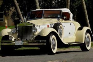 1979 Replica/Kit Makes BARON REPLICA REPLICA OF A 1936 ROLLS ROYCE