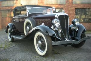1933 Studebaker Roadster Deluxe