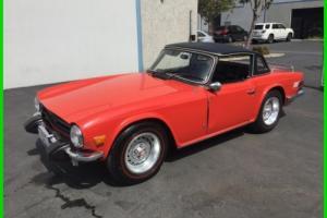 1975 Triumph TR-6