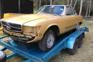 Mercedes 450 SL Wrecking OR Project in NSW