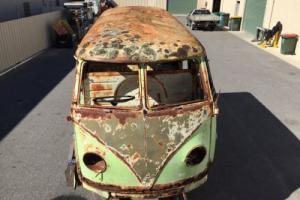VW Splitscreen Kombi 1955 in SA