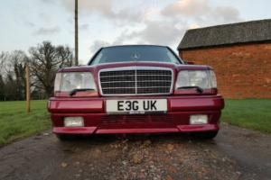 1994 MERCEDES w124 E36 AMG AUTO RED -one of 12 RHD -very rare-3,6 engine 272 bhp