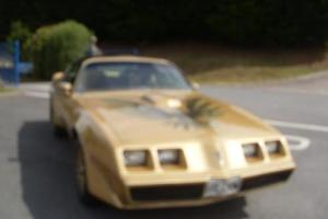 1979 Pontial Transam 6.6 T Top Gold £14995