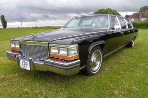 1988 CADILLAC 6 door diesel V8 Limo Prom /Wedding/Party black limousine Brougham