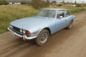 1973 Triumph Stag Rolling Shell For Restoration parts car