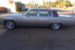 1983 Cadillac Fleetwood 4 dr Sedan