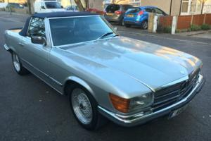 1983 MERCEDES-BENZ 380SL CONVERTIBLE 130000 GREAT CONDITION FOR YEAR Photo