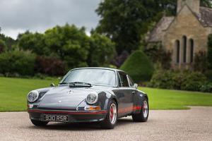 1970s Porsche 911 930 RSR 3.3 Turbo Rennsport Show Car Slate grey Coupe