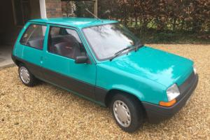 1985 RENAULT 5 TC An early Second Generation 5 with only 22k