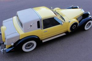 1982 Replica/Kit Makes Zimmer Golden Spirit Coupe Gold Ford Motor Neo Classic