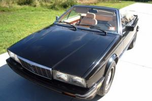 1987 Maserati Spyder Zagato Injection