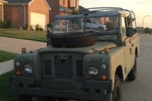 1979 Land Rover series 111 109 diesel
