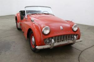 1960 Triumph TR3 Photo