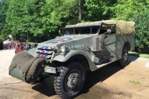 White M3A1 Scout Car