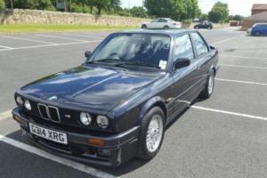 1990 BMW E30 325 I SPORT BLACK 12 MONTHS MOT RESTORED M3 AMAZING CAR LSD
