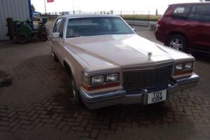 Cadillac De Ville genuine V8 DieselAUTOMATIC 1981