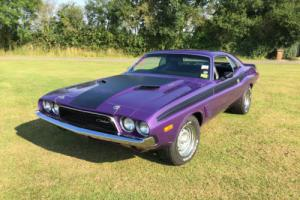 1973 Dodge Challenger was a Four speed and a 340 Six pack engine