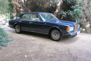 1987 Rolls-Royce Silver Spirit, Low Mileage in Windsor Blue