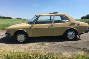 1972 SAAB 99 L YELLOW