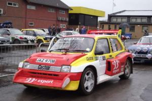 MG Metro 6R4 - 2.5 V64V Rally Car Photo