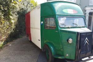 Citroen HY Wood Fired Pizza Van