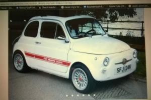 classic fiat 595 replica