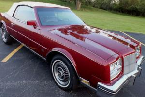 1985 Buick Riviera Special Edition Turbo Convertible