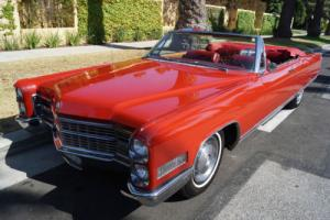 1966 Cadillac Eldorado CONVERTIBLE WITH FACTORY AIR CONDITIONING!