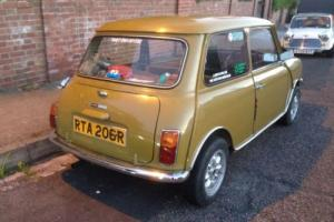 classic mini clubman 1098 - not a cooper s mk1 mini or 1275gt Photo
