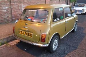 classic mini clubman 1098 - not a cooper s mk1 mini or 1275gt