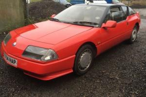 1988 RENAULT GTA V6 TURBO RED ALPINE
