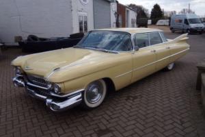 1959 cadillac deville 4 door pillar less flat top MOT exempt V8 UK registered un