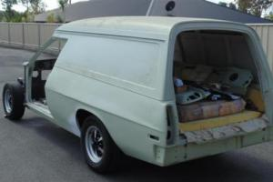 HJ Holden Original Windowless XX7 Tagged Sandman Panelvan in QLD