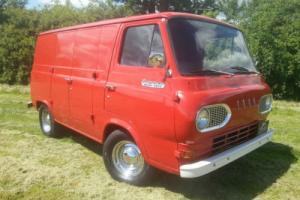 1963 ford econoline van, rare,. hotrod, low mileage, vannin