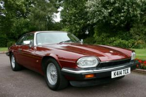 1993 JAGUAR XJ-S 4.0 AUTO RED, ONLY 77K, IMMACULATE CONDITION