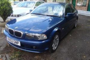 BMW 3 SERIES 2.5 325Ci COUPE MANUAL, Blue, Manual, Petrol, 2002