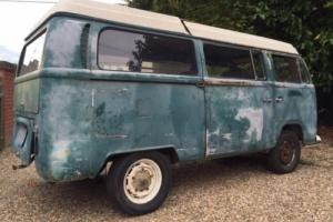 1968 VW T2 Bay Westy Westfalia Camper Project Bus