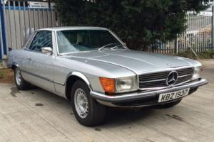 Mercedes SLC 350 classic car C107, not SL R107