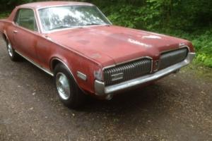 MERCURY COUGAR XR7 1968, ford mustang runing gear, V8, Muscle car, VIDEO
