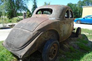 Ford: 5 Window Coupe Deluxe Spoke Wheels