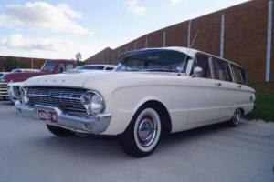 Ford Falcon 1962 XL Wagon XK XM XP XR XT Deluxe Fairmont Hotrod 6 Seater Auto in VIC