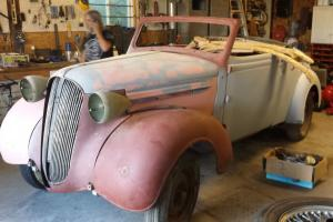 Plymouth: Convertible coupe with rumble seat De luxe